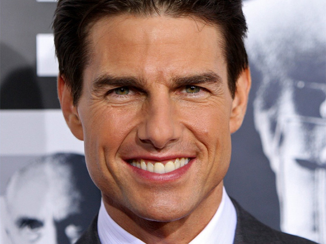 Tom Cruise's Perfectly Centered Front Tooth