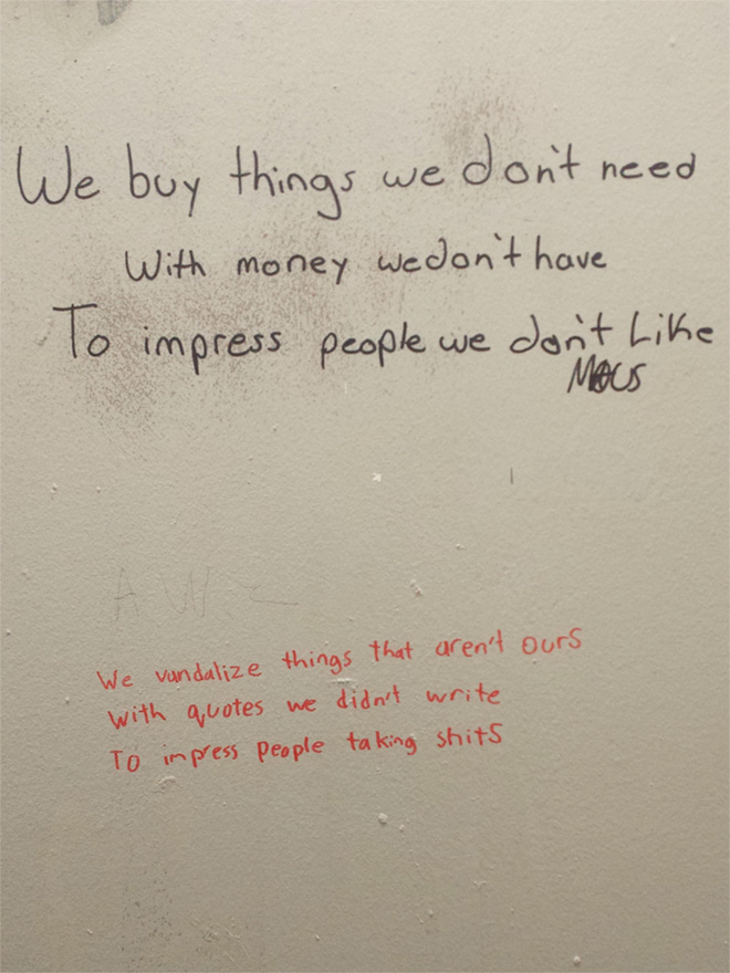 Toilet Graffiti Battle