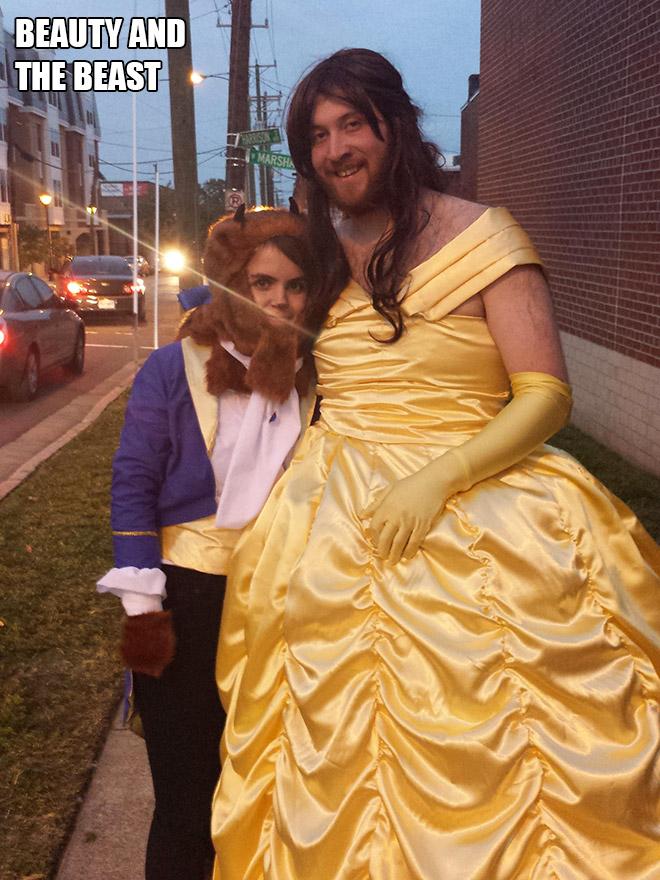 Beauty And The Beast Halloween costume.
