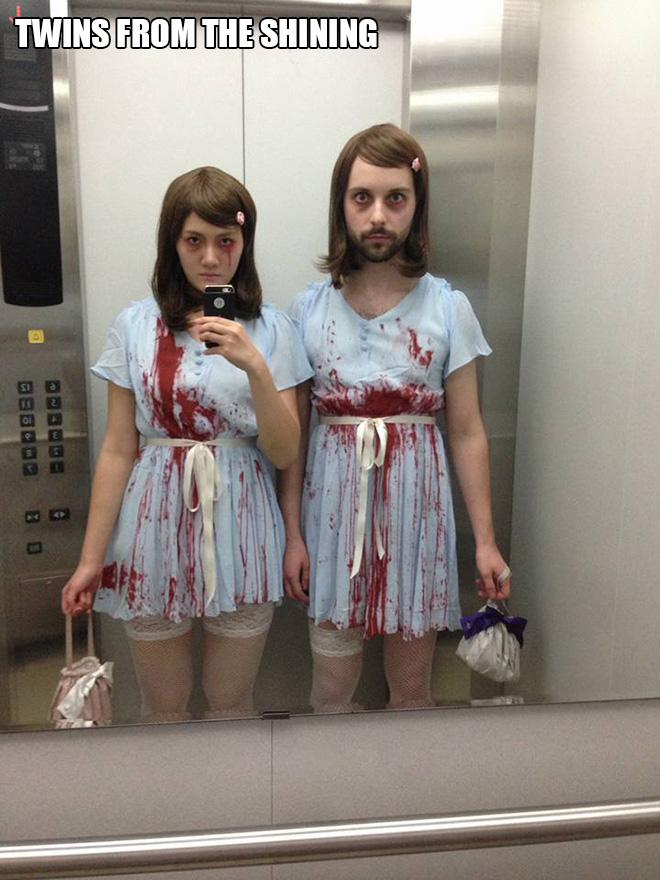 The Shining Halloween costume.