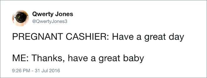 Have a great baby!