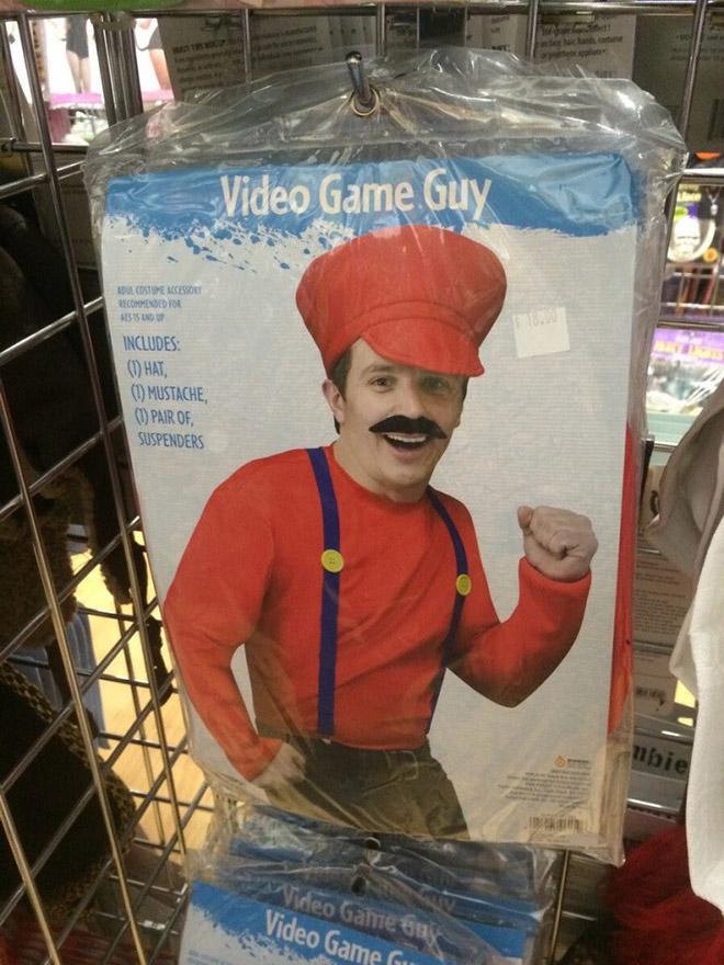 Video game guy Halloween costume.