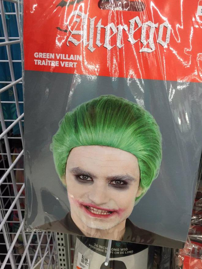 Alter ego Halloween costume.