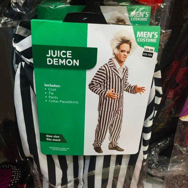 Juice demon costume.