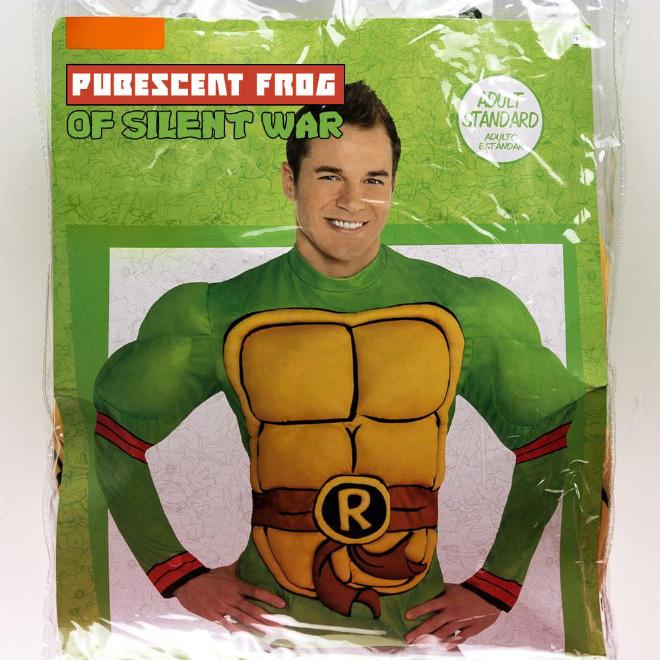 TMNT Halloween costume.