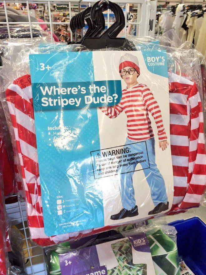 Waldo Halloween costume.