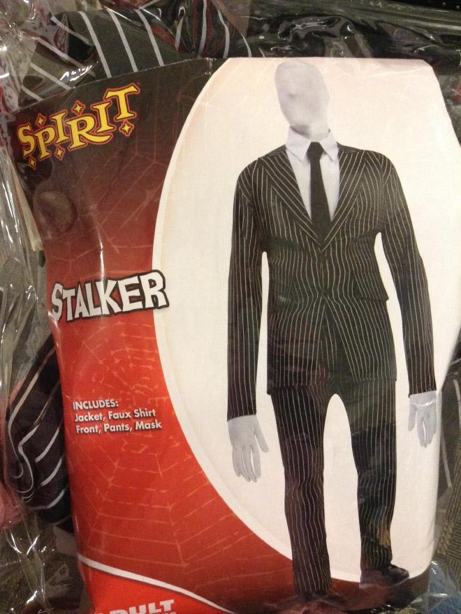 Stalker Halloween costume.