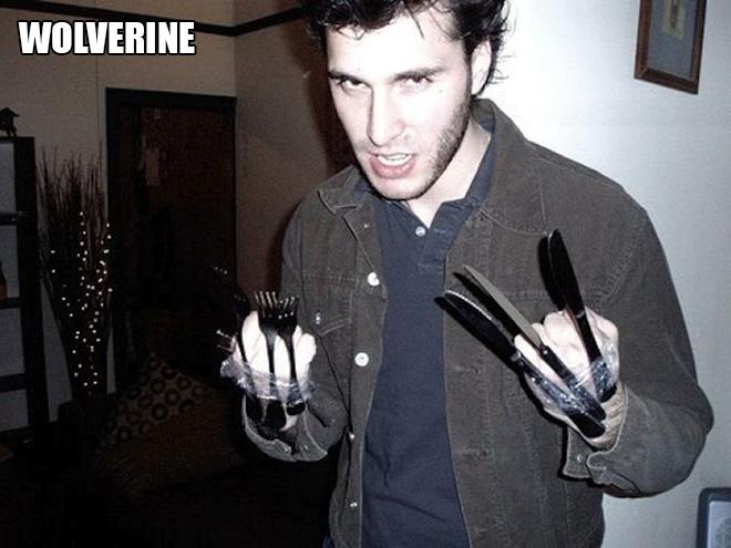 Wolverine costume.
