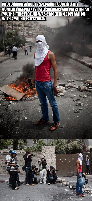 Israel vs. Palestine.