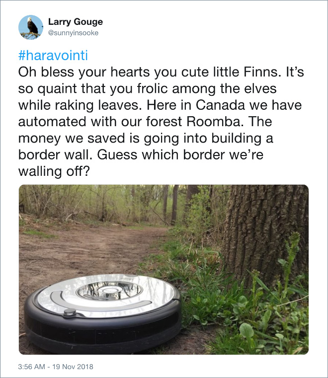 Forest Roomba to the rescue!
