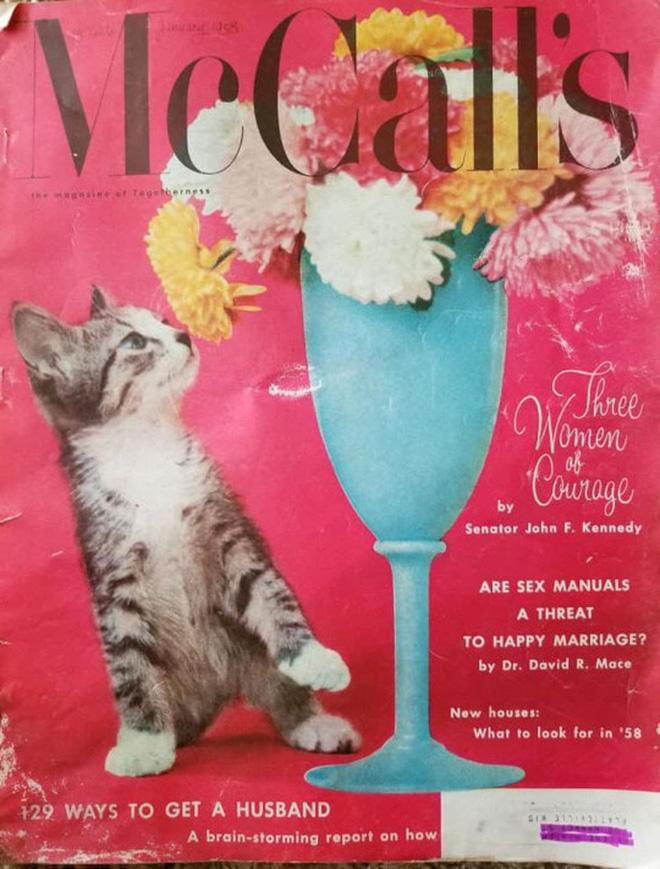 McCall's magazine cover.