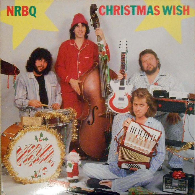 Christmas album cover art from hell.
