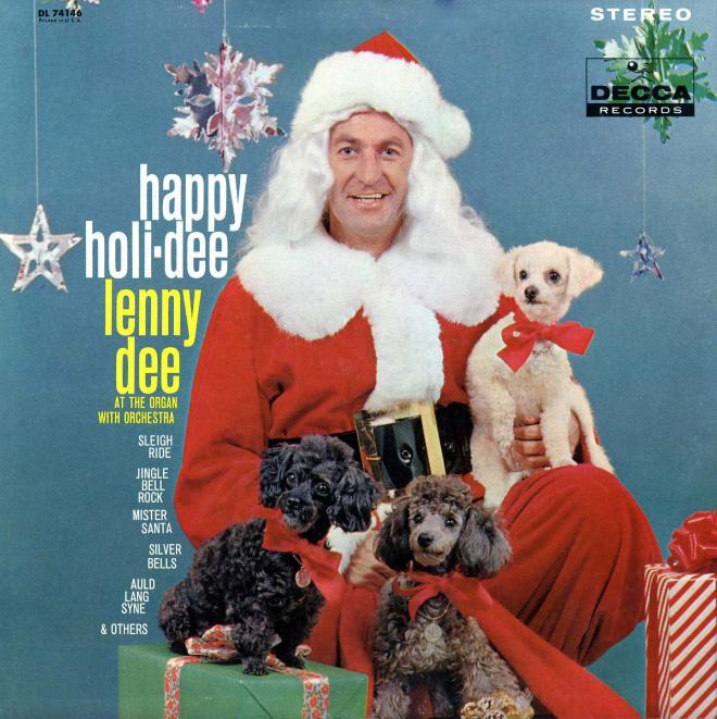 Christmas album cover fail.