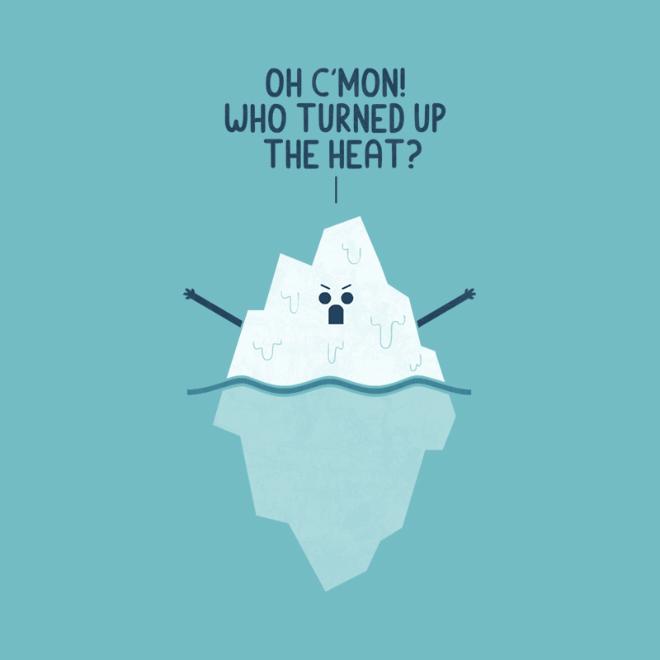 Angry iceberg.