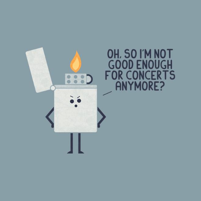 Angry lighter.