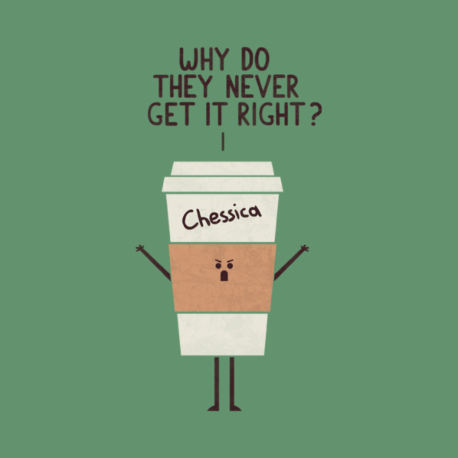 Angry Starbucks coffee.