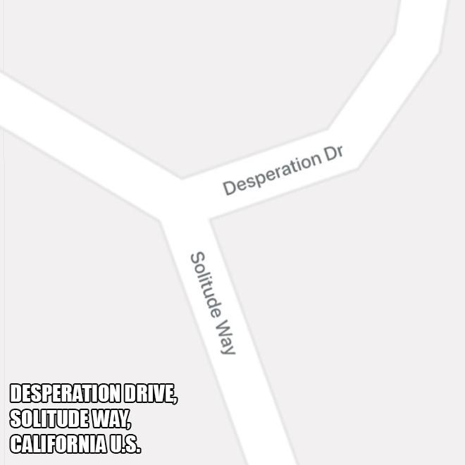 The saddest part of town.