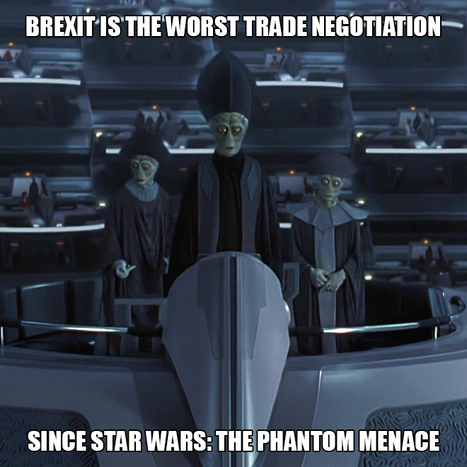 Brexit meets Star Wars.