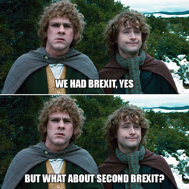 We had Brexit, yes. But...