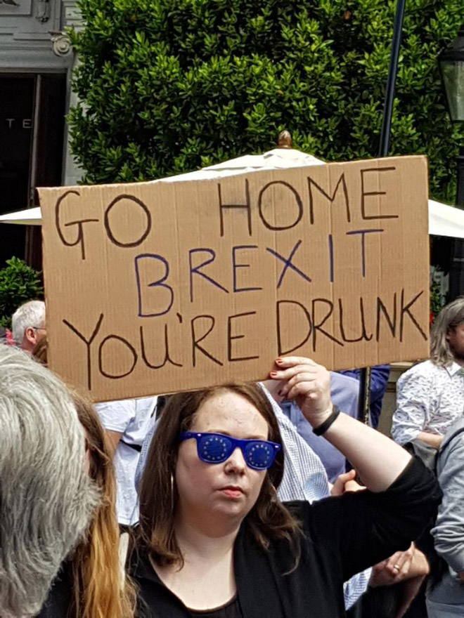 Go home, Brexit!