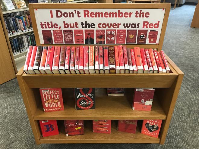 Brilliant library book shelf idea.