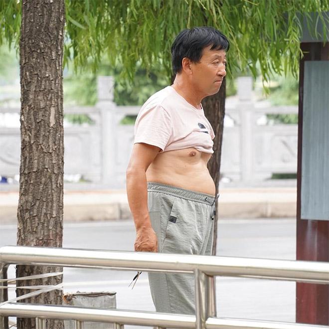 Lovely display of Beijing bikini.
