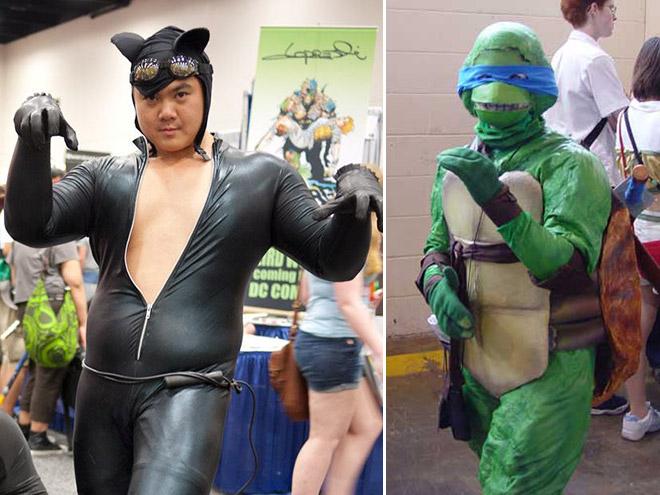 Hilarious cosplay fails.