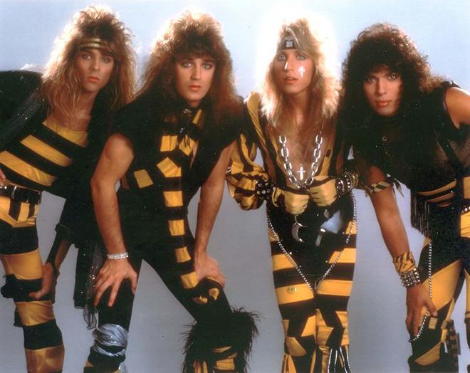 Ridiculous metal band photo.