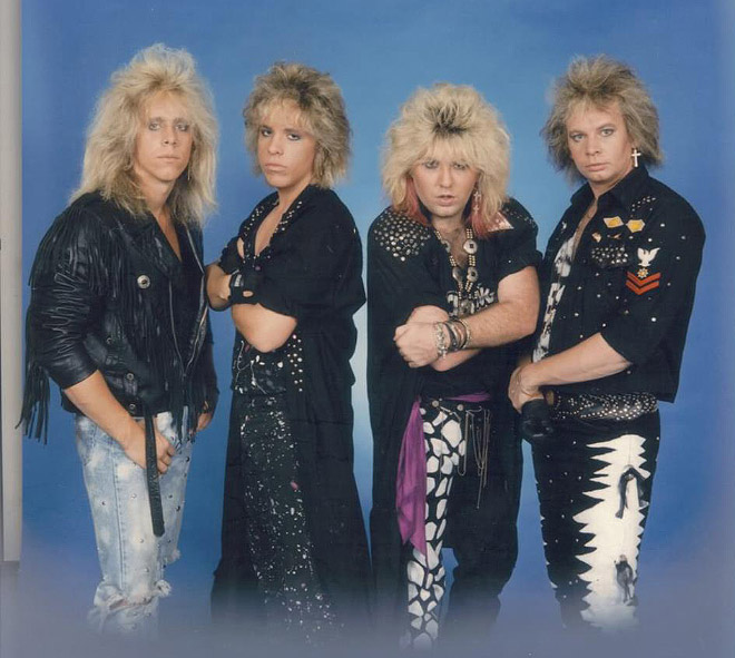 Is this the dumbest metal band photo ever or what?