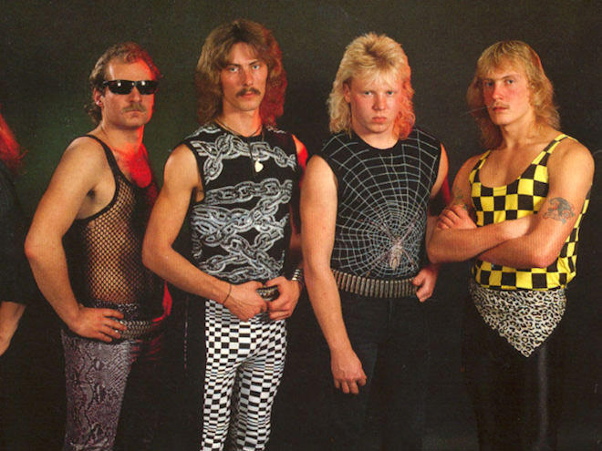 The dumbest band photo ever.