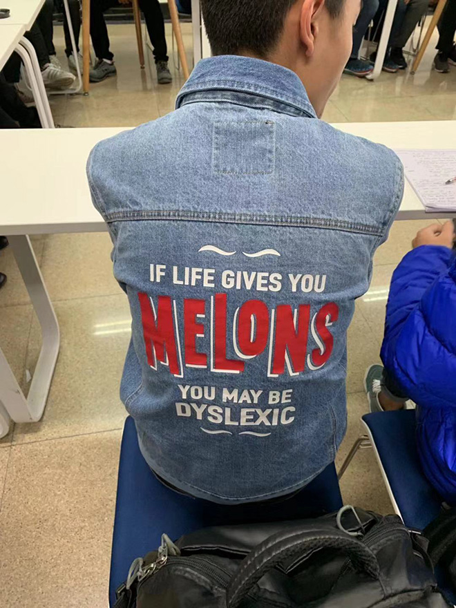 When life gives you melons...
