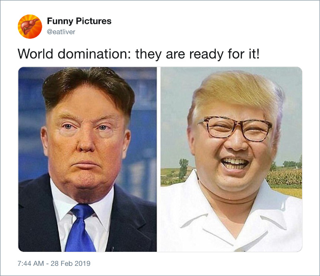 World domination: they are ready for it!
