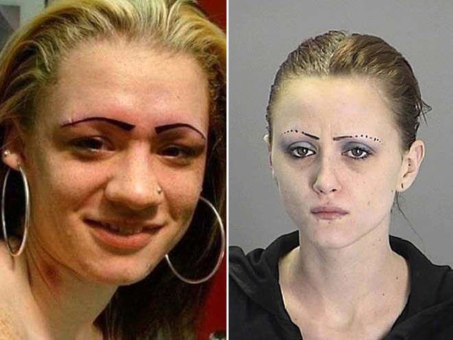 Some women don't understand how eyebrows work...