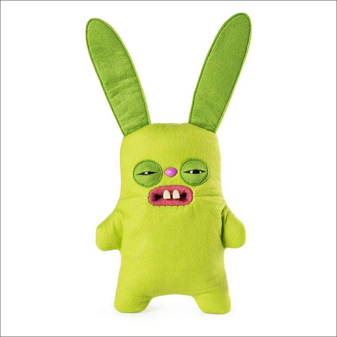 Meet a Fuggler: creepy stuffed toy with human teeth.