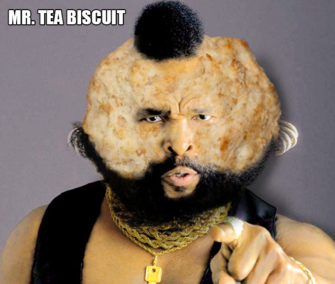Bread celebrity. The greatest use of Photoshop ever.