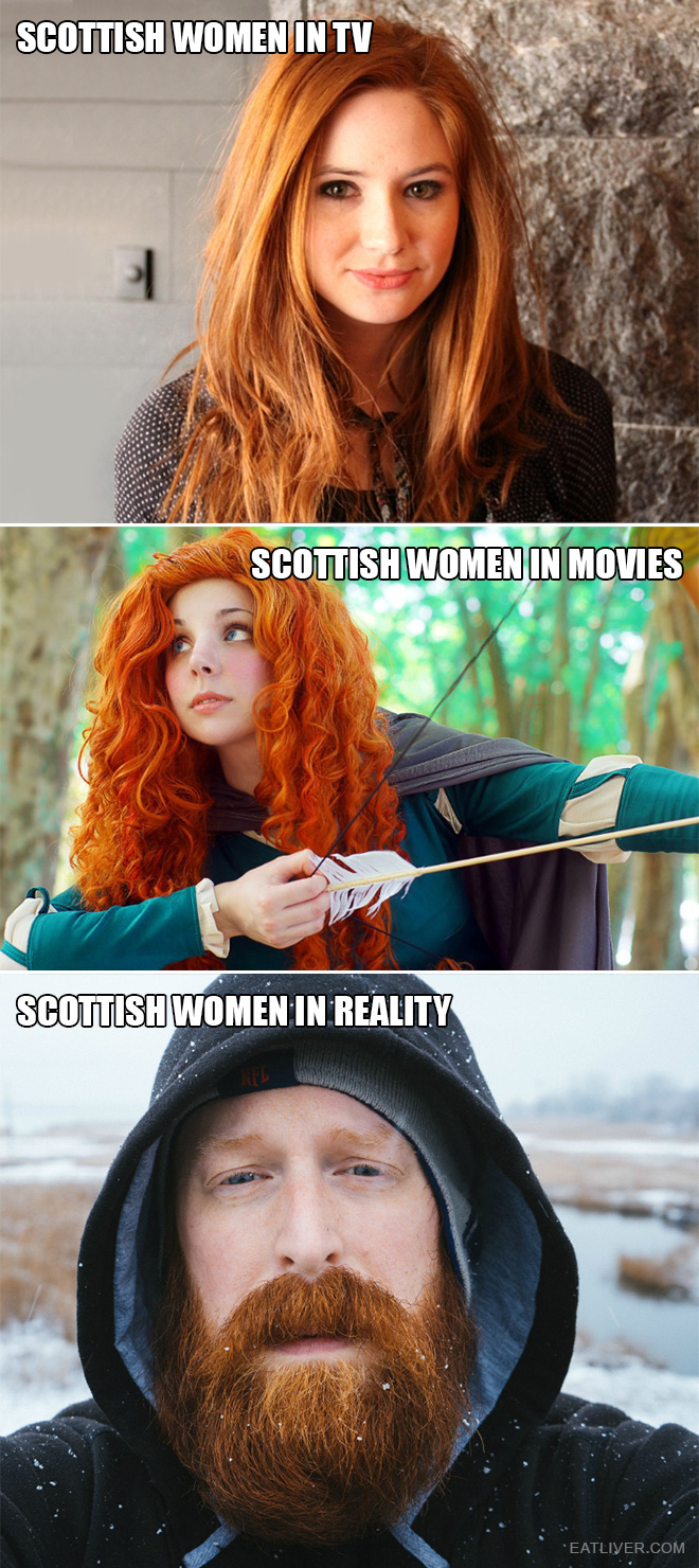 The truth about Scottish women.