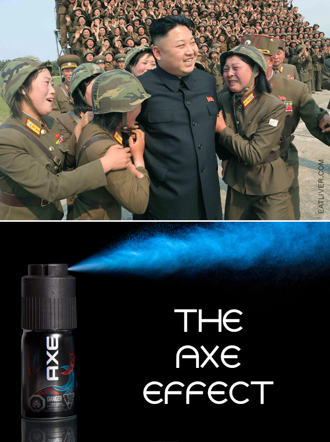 The Axe effect is real!