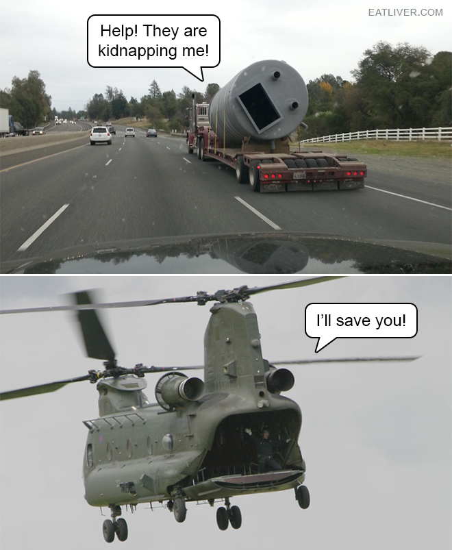 Help! They are kidnapping me!