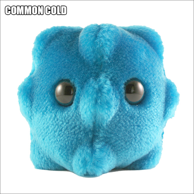 Cute disease plush toy.