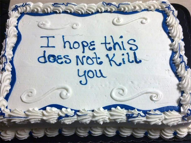 Why not say it with a delicious cake?