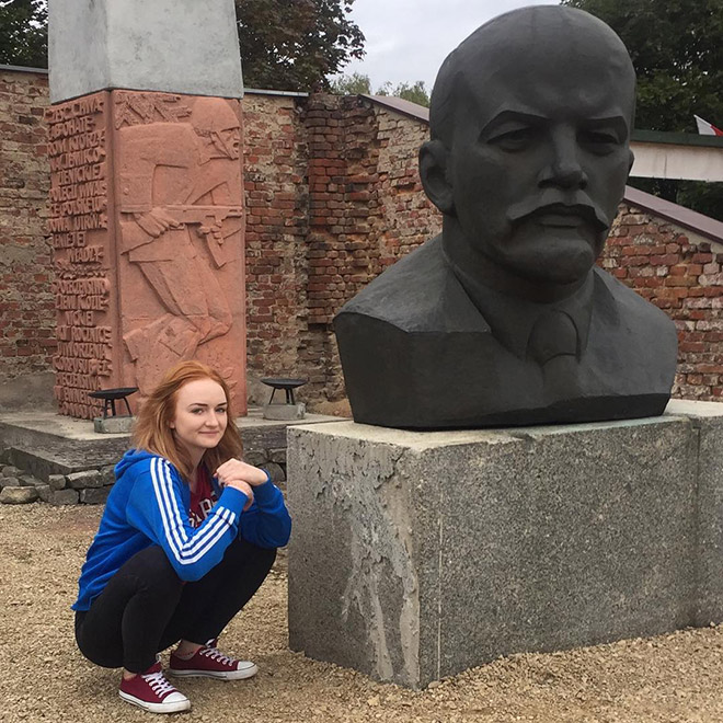 Russians love squatting while wearing tracksuits.