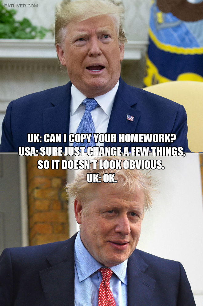 Hilarious Boris Johnson meme.