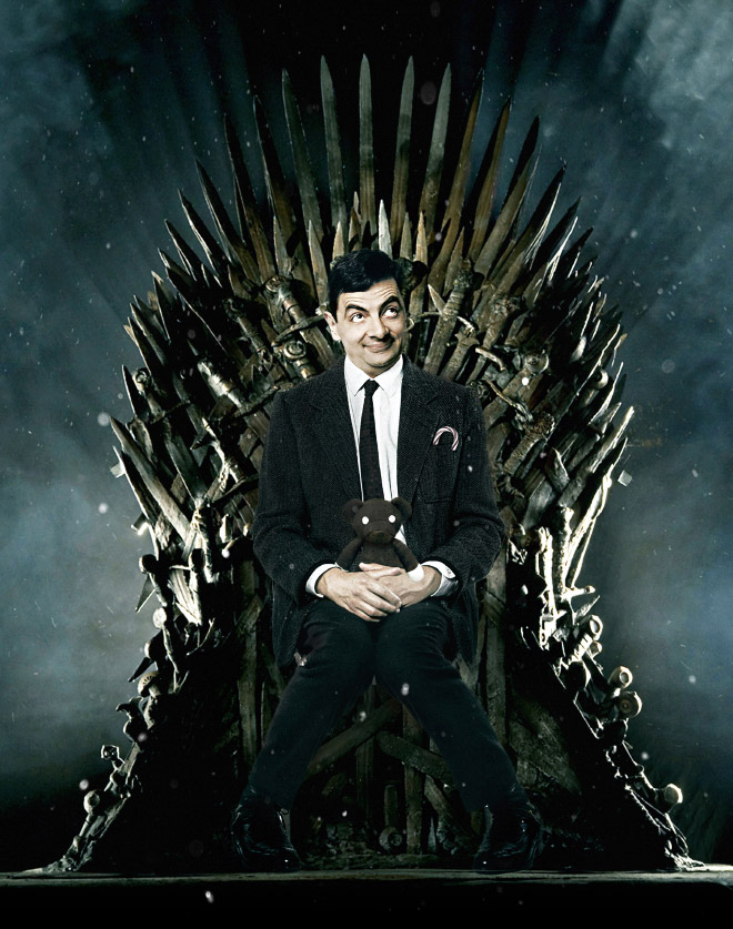Mr. Bean is his new role.