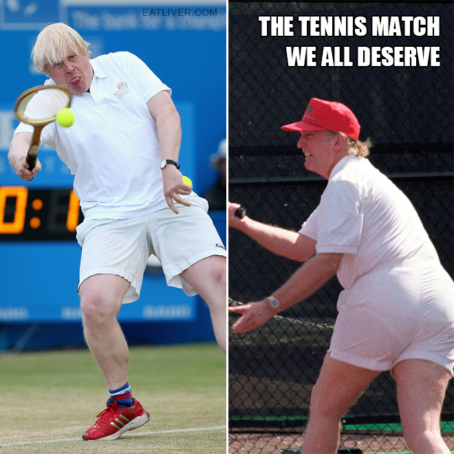 The tennis match we all deserve.