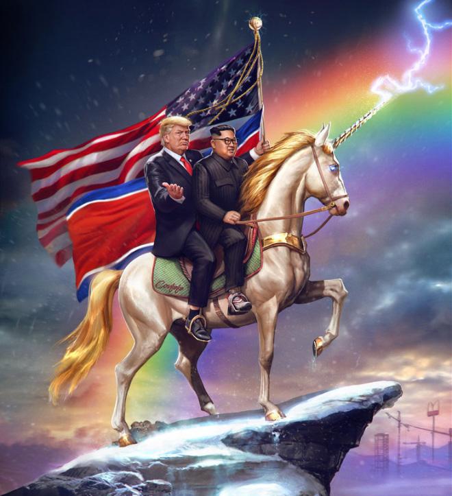 Badass patriotic portrait.