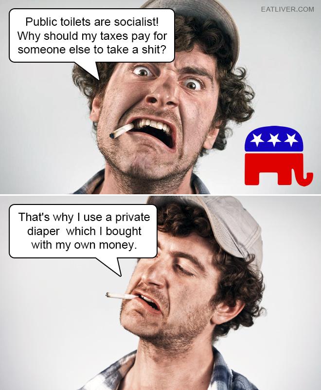 Brilliant example of Republican logic.