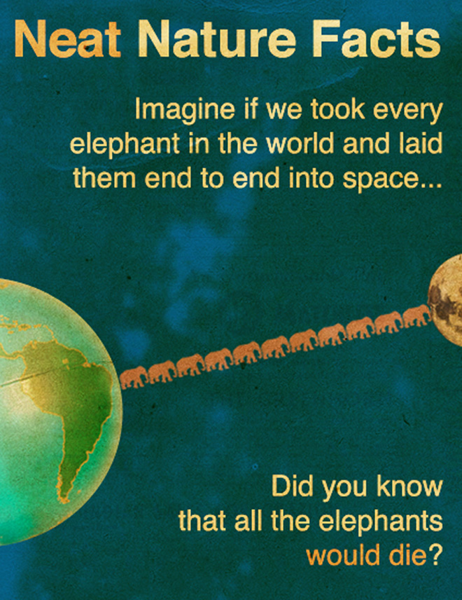 Interesting little known science fact.