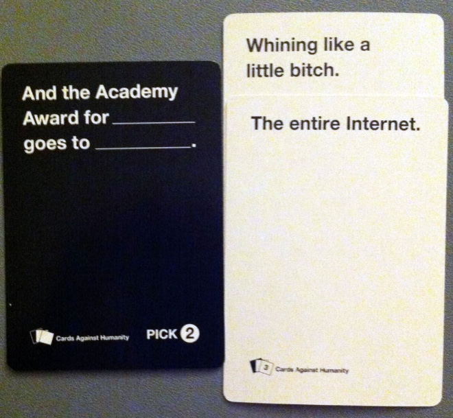 Cards Against Humanity Answers List
