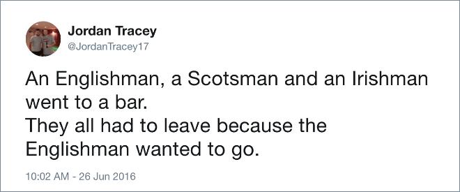 Brilliant #Brexit tweet.
