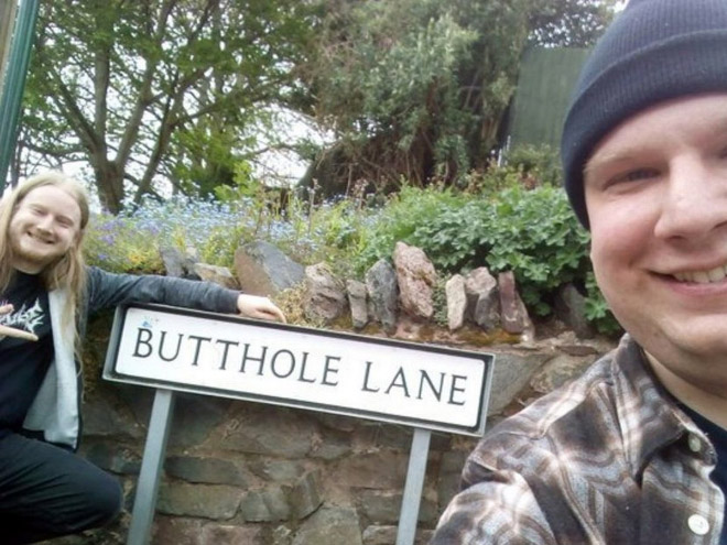 Awesome street name. Well done, UK.